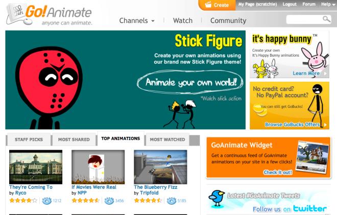 GoAnimate – Superb FREE animation tool – Passion Changes