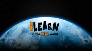 iLearn World(black outline